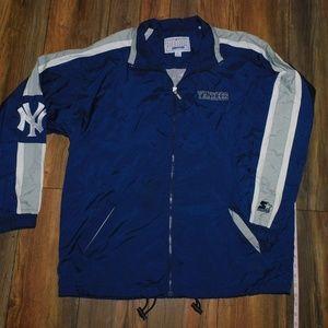 Vintage MLB x Starter Yankees Full-Zip Windbreaker